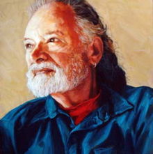 Barry Spacks, painting by Jack Smith