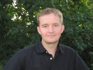 Aaron Baker, winner of the 2017 Barry Spacks Poetry Prize