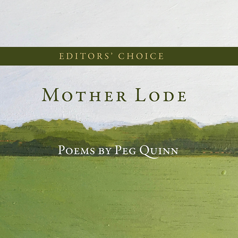 First Editors' Choice Prize to Peg Quinn